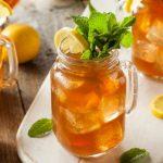 Chá de feno-grego e alcachofra